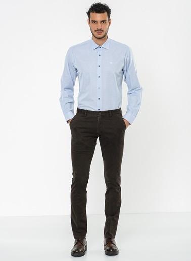 Beymen Business Ekose Gömlek Beyaz